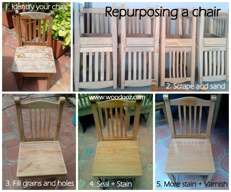 How To Refinish Your Furniture Give Your Chairs A Break