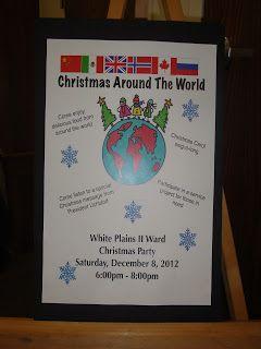 Ward Christmas Party Ideas: Christmas Around The World