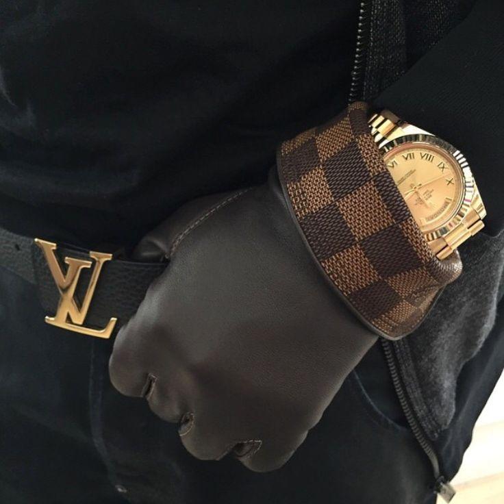 Shiv Naresh Teens Boxing Gloves 12oz: Gold Rolex Day-Date X Louis Vuitton Gloves & Belt. Www