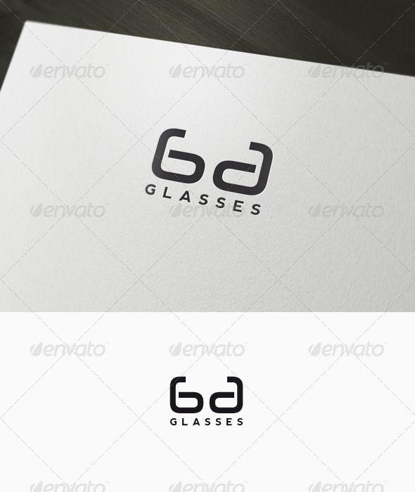 Glasses - Lenses Logo ...  brand, branding, corporate, glasses, glasses logo, identity, lenses, lenses logo, letter, logo, logoype, minimal, minimalist, optical, optical logo