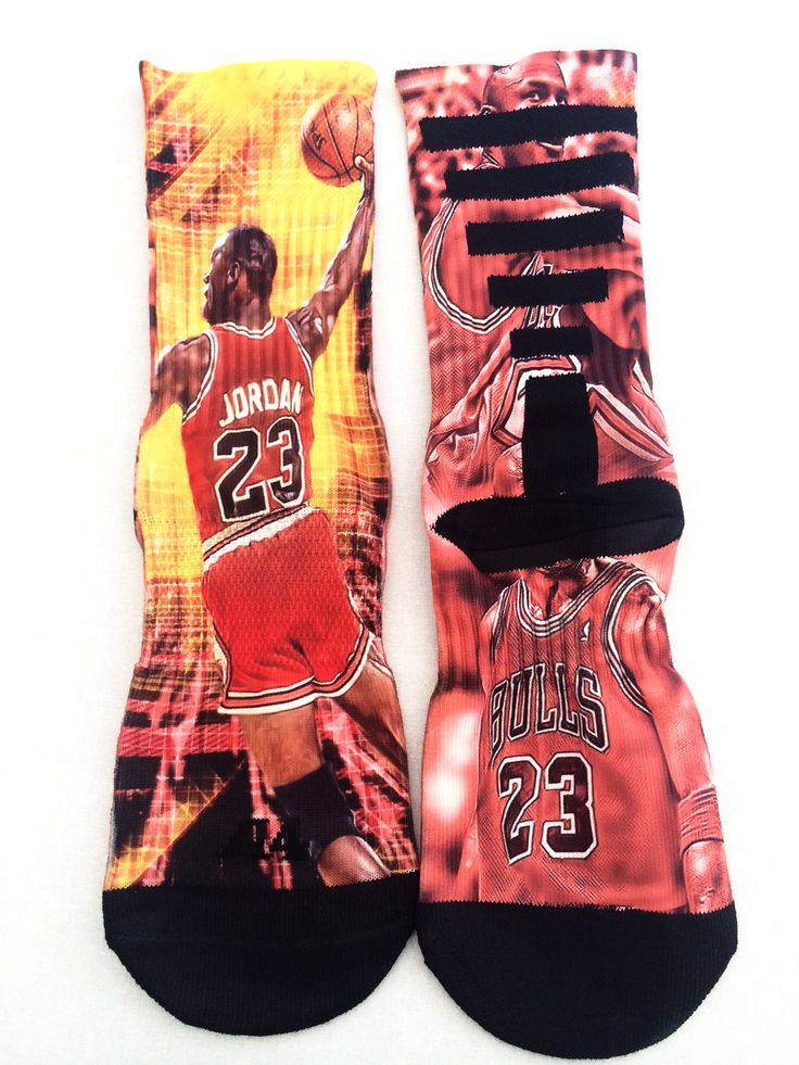 "Michael Jordan ""23"" Performance Socks Michael jordan"
