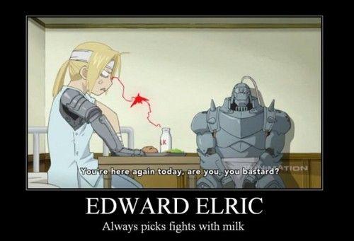 funny fullmetal alchemist pictures | full metal alchemist – milk