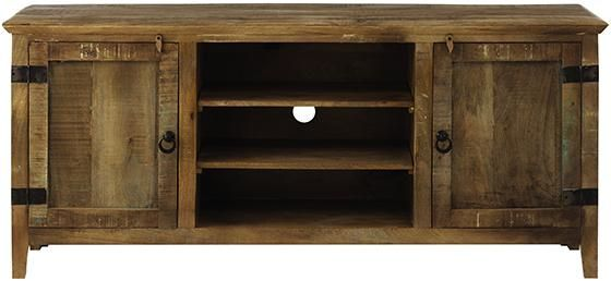 Holbrook Large TV Stand - Rustic Tv Stand - Large Tv Stands - Tv Stands For Flat Screens - Flat Screen Tv Stands | HomeDecorators.com