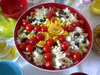 O kadar şık bir salata ki yemeye kıyamadık