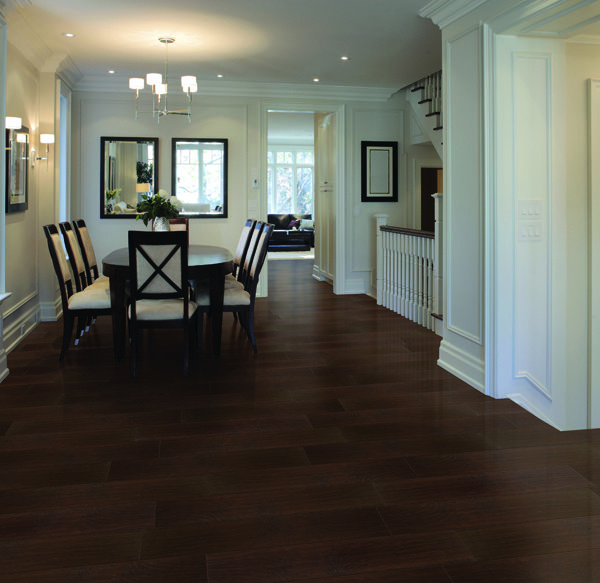 Brazilian coffee by select surfaces really inexpensive for Cheap durable flooring ideas