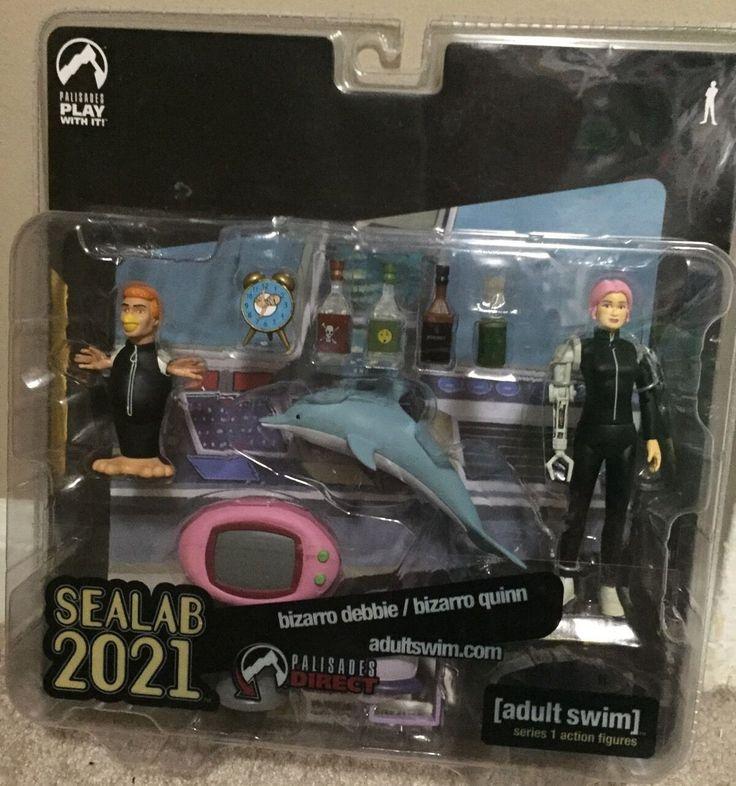 Adult Swim Palisades Toys Sealab 2021 Bizarro Quinn Debbie Figure Exclusive | eBay
