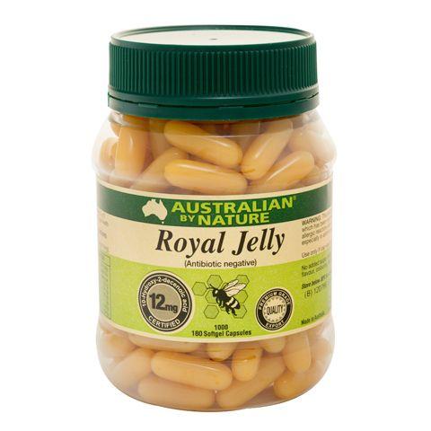 Royal Jelly 1000mg – Australian by Nature – 180 Capsules | Shop Australia