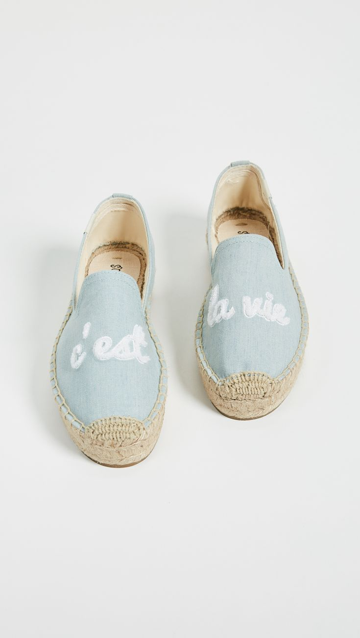Soludos C'est La Vie Smoking Slippers | SHOPBOP SAVE UP TO 25% Use Code: GOBIG18