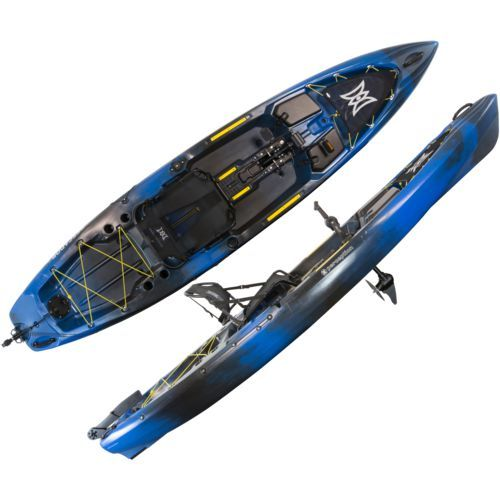 Perception Pescador Pilot 12' Sit-on-Top Pedal Kayak Sonic Camo - Boats/Motors/Marine Electronics, Canoes/Kayaks/Small Boats at Academy Sports Soni...