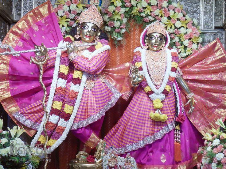 Today's (19-April-2017) Special Alankara for Sri Radha Krishnachandra on 10th day of  Brahmotsava celebrations @ ISKCON Bangalore.