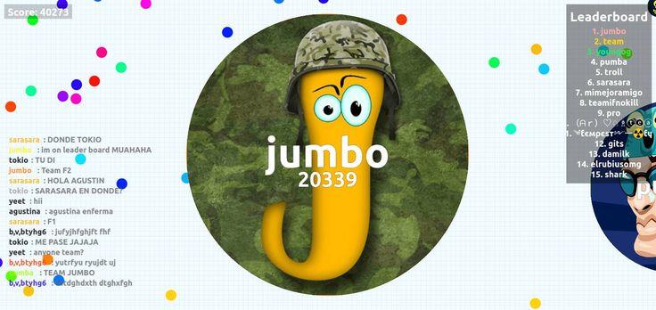 40273 agario pvp score agarioplay.com nickname jumbo - Player: jumbo / Score: 402730 - jumbo saved mass Hey guys today heres a 40273 agario private server in agarioplay.com