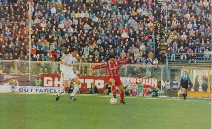 Cremonese Parma - Angelo Orlando contro Dino Baggio