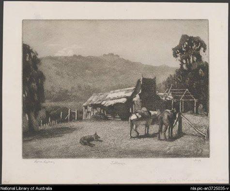 Talbingo, 1925  Lionel Lindsey