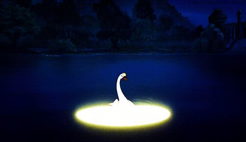 The Swan Princess. I was so obsessed with Odette's hair and with the magical shape-shifting.