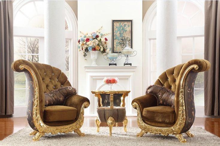 Europäische Klassische Sofa Stuhl für Wohnzimmer Stuhl Stuhl Holz Hocker