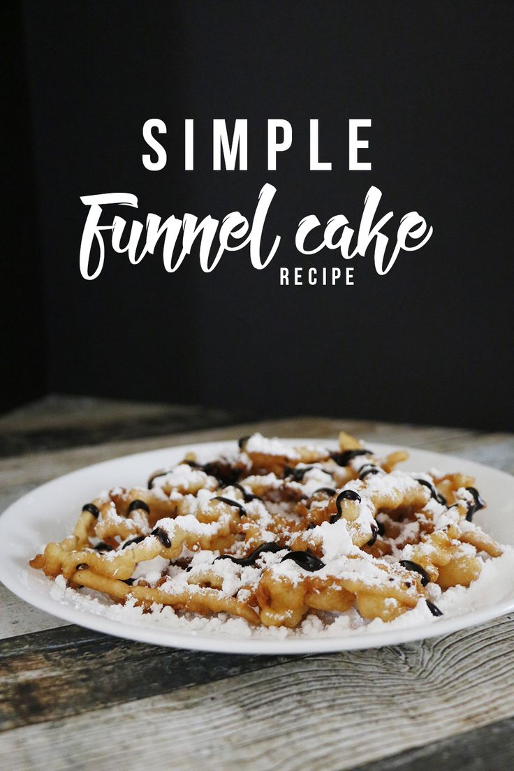 This simple funnel cake recipe will make sure that you never miss carnival funnel cakes! You'll feel like you were at the fair every time you make these!