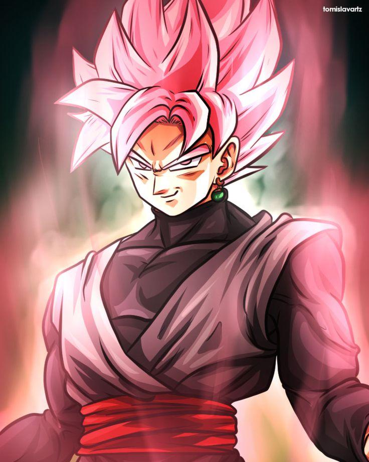 Rose Black Goku (Dragonball Super) by TomislavArtz on @DeviantArt