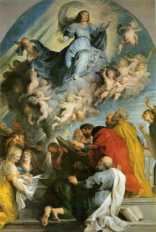 Peter Paul Rubens Paintings | Assumption of Virgin