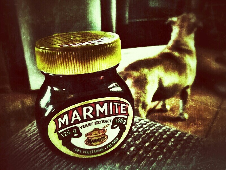 Things I cannot do without MARMITE #snapseed