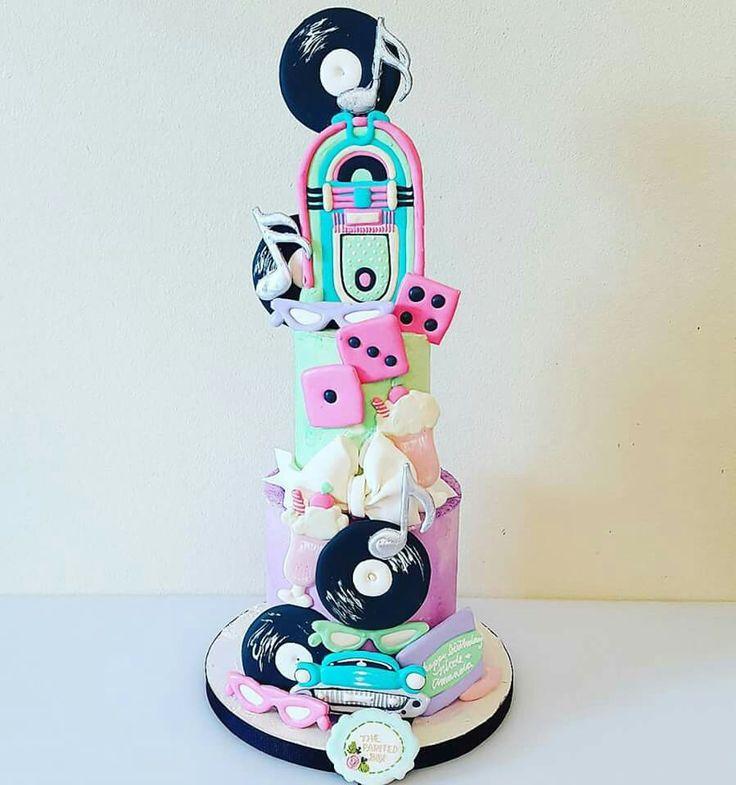 82 besten 50\'s cakes Bilder auf Pinterest | Fondant torten ...
