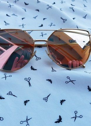Kup mój przedmiot na #vintedpl http://www.vinted.pl/akcesoria/okulary-przeciwsloneczne/18236239-okulary-przeciwsloneczne-lustrzanki-rozowe-cat-eye-idealne-na-lato-hit