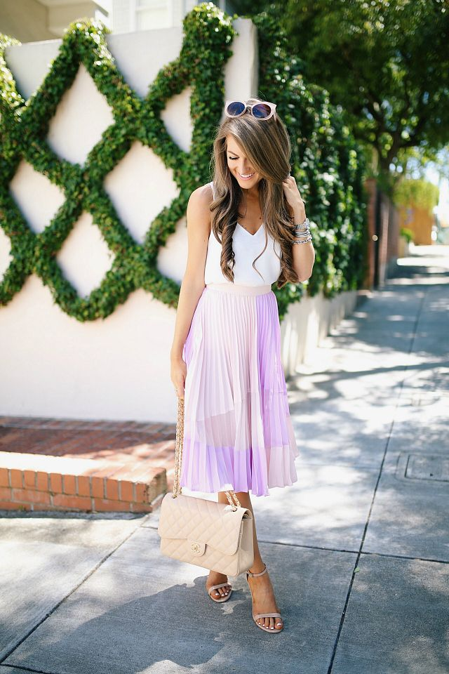 17 best ideas about pink pleated skirt on pink