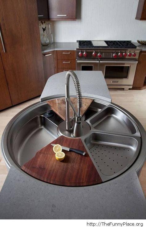 convenient kitchen sink