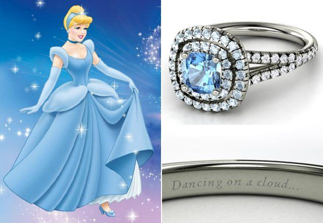 Cinderella engagement ring? More like promise ring but future husband, get this please <33