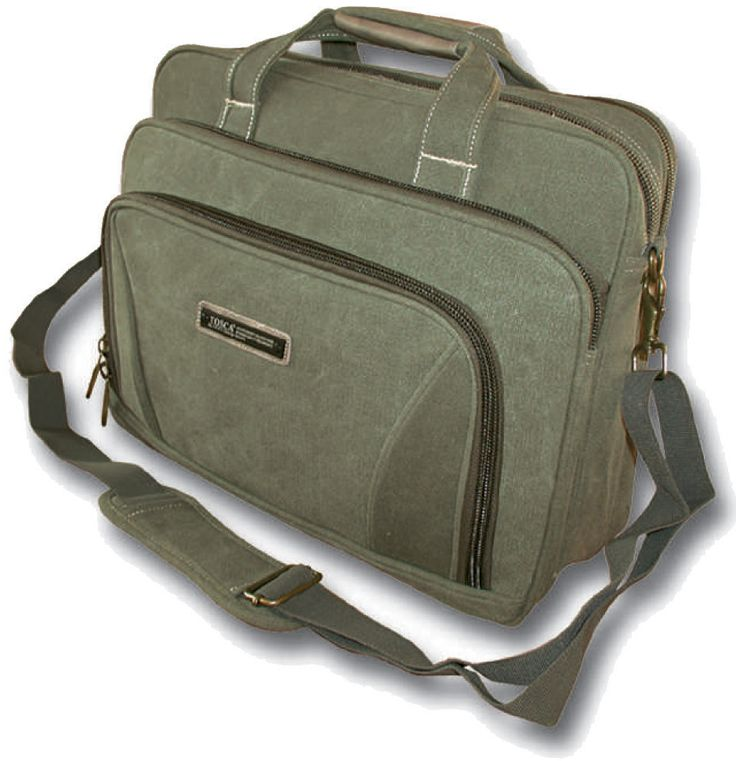 "Laptop Briefcase - 15"" @ R513 Specs. 1.10 kg, 41 x 13 x 31cm  Code:358LL16 Features: 16 OZ Canvas, Adjustable Shoulder Sling, Durable, Double Carry Handle"