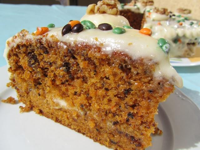 Tarta carrot-cake auténtica americana | La Juani de Ana Sevilla