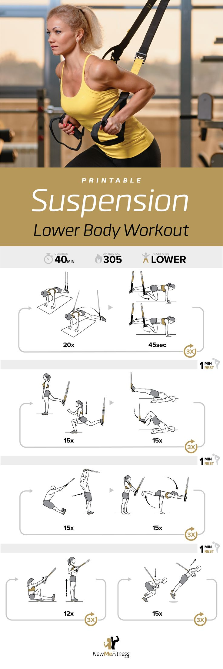 TRX Suspension Workout | Posted by: AdvancedWeightLossTips.com