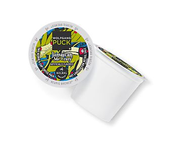 Jamaican Me Crazy® Wolfgang Puck Coffee,  ***** Wonderful taste!  Coconut, tropical flavor coffee, one of my favorites I'm never without.  But make sure you have Wolfgang Pucks--there are imitators (ahem...crazy cups) that are NOT this one and are NOT good.