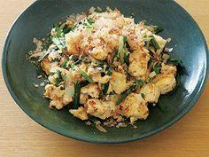 豆腐チャンプルーレシピ 講師は大庭 英子さん|使える料理レシピ集 みんなのきょうの料理 NHKエデュケーショナル