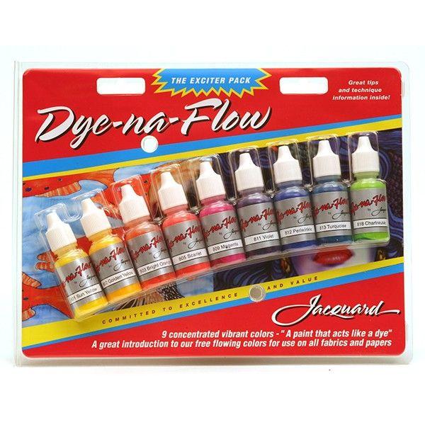 Set culori Dye-Na-Flow Exciter Pack