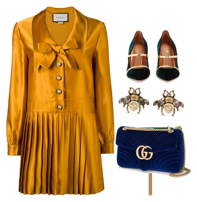 """""""Untitled #7"""" by tripti917 on Polyvore featuring Gucci, Yves Saint Laurent and Malone Souliers"""