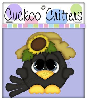 Cuckoo Critters (Crow) - Treasure Box Designs Patterns & Cutting Files (SVG,WPC,GSD,DXF,AI,JPEG)
