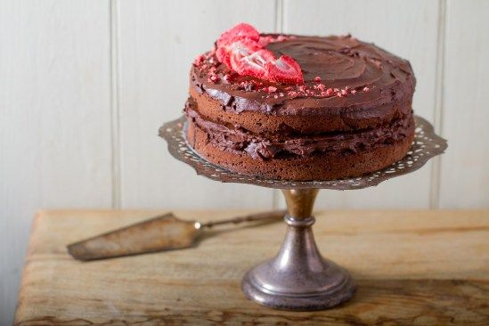 A classic chocolate cake, quicker and easier! Starring our Rumbles Choc Rocks, naturally.