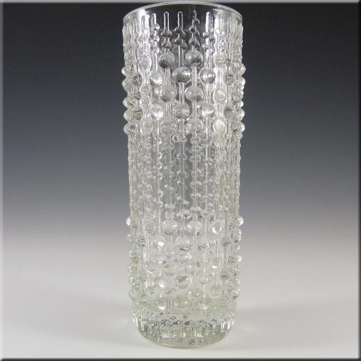 Sklo Union Hermanova Hut Glass Vase - Frantisek Peceny - £14.99