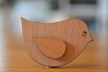 Brooch - Curvy bird | Trade Me