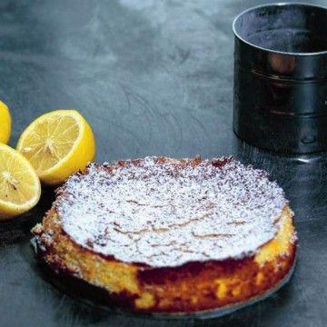 Citronkladdkaka - Recept - Tasteline