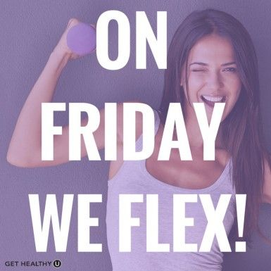 On Friday, We Flex! | Repin to stay motivated!