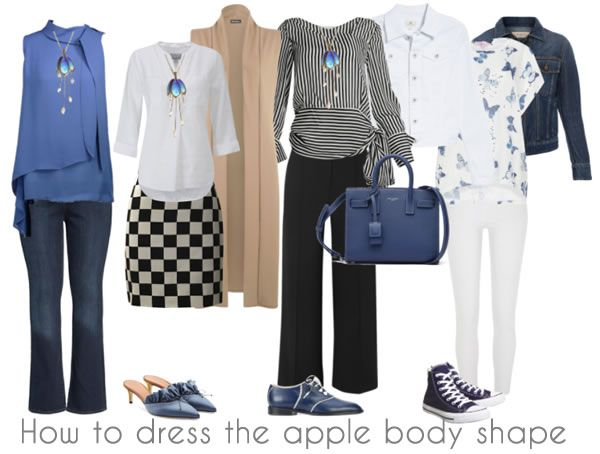 How to dress the apple body shape – the best tops and bottoms