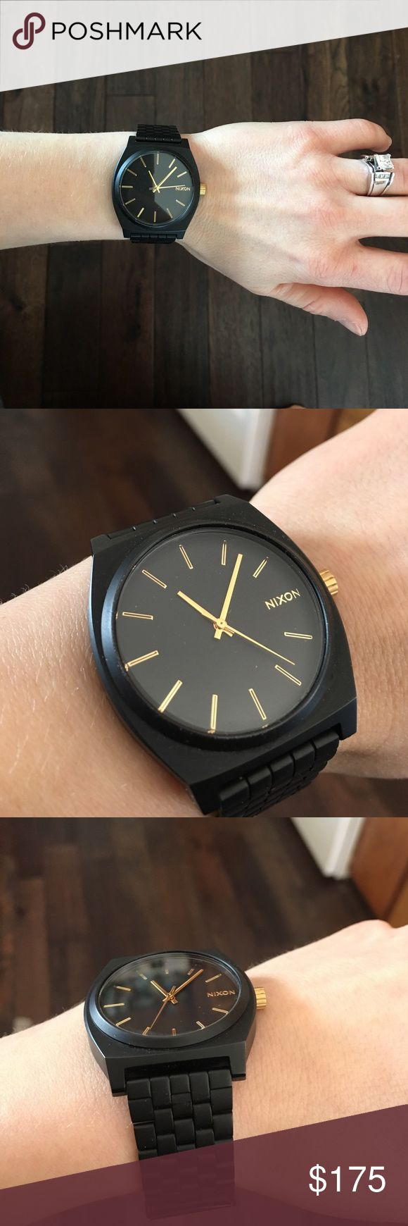 Nixon watch NWOT! matte black, women's Nixon watch! Nixon Accessories Watches