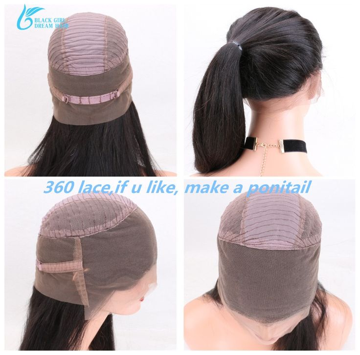 360 Lace Frontal Wigs With Baby Hair Preplucked,Brazilian 360 Lace Front Human Hair Wigs With Natrual Hairline