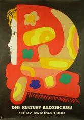 Designer: Unknown. Year: 1980. Title: Soviet Cultural Day.