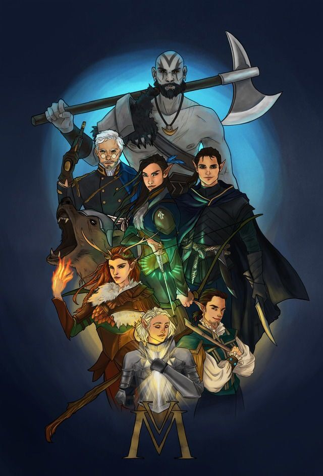 Critical Role Fan Art Gallery – Taking On Bigger Adventures | Geek and Sundry