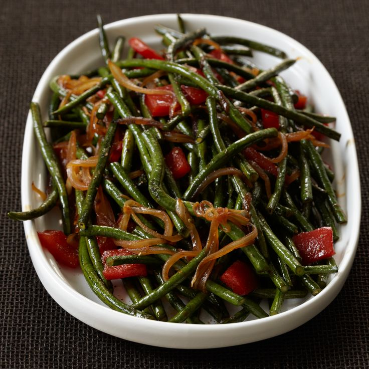 Chinese Long Beans with Cracked Black Pepper | Food & Wine