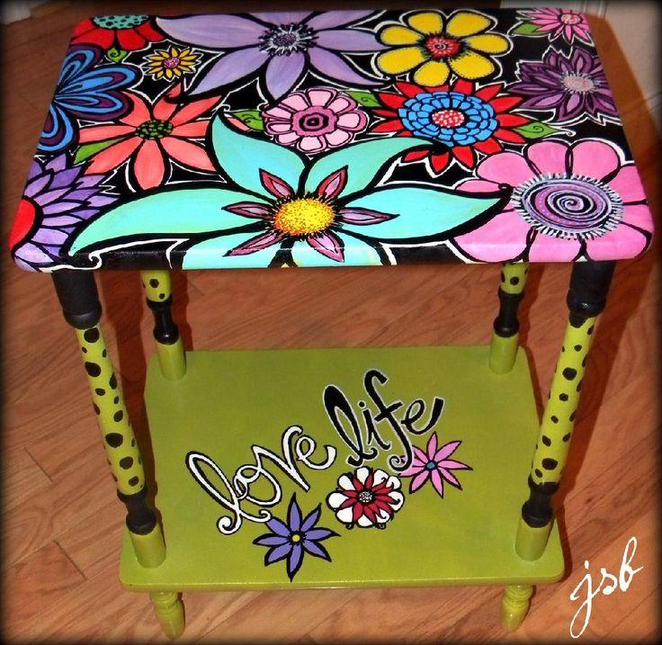 Pintando muebles