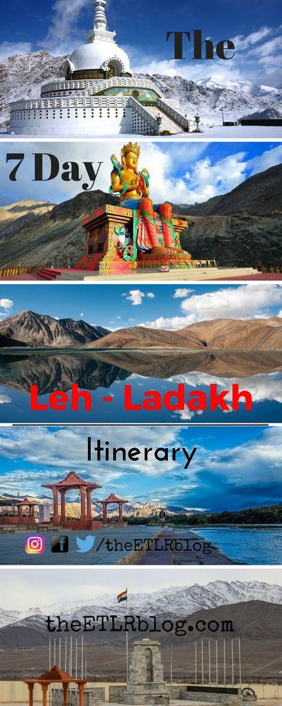 The 7 day Leh Ladakh Itinerary