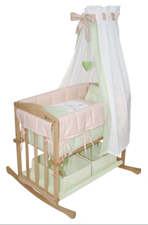 28 best wieg images on pinterest baby crib bassinet and crib. Black Bedroom Furniture Sets. Home Design Ideas